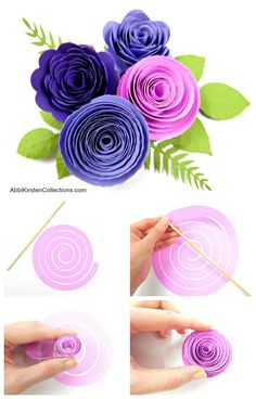 Methods to make paper rosettes. This paper rosetter flower tutorial is straightforward and newbie pleasant. Obtain and DIY your individual free paper rosette template. How To Make Paper Flowers, Quilling Paper Craft, Tissue Paper Flowers, Paper Flower Backdrop, Flower Paper, Paper Flower Diy Easy, Quilling Comb, Neli Quilling, Flower Svg