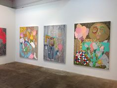 Wendell Gladstone Artist Paintings Exhibition Kravets Wehby Gallery New York