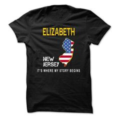 ELIZABETH - Its Where My Story Begins - #tshirt quotes #pink sweatshirt. WANT IT => https://www.sunfrog.com/States/ELIZABETH--Its-Where-My-Story-Begins-criih.html?68278