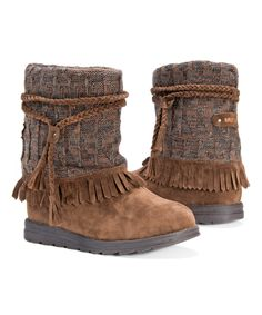 Look what I found on #zulily! Chestnut Rihanna Pull-On Boot - Women by MUK LUKS #zulilyfinds