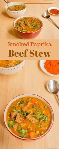 Smoked Paprika Beef Stew