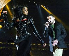 Janet Jackson and Justin Timberlake - Super Bowl XXXVIII (2004). Theme: Rock the Vote