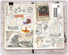 Ring the bell & Run like hell: Anna Rusakova et son moleskine