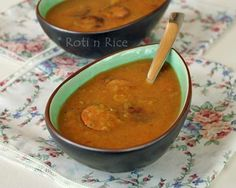 Split Pea and Sausage Soup | Food to gladden the heart at RotiNRice.com