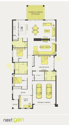 McDonald Jones Homes - Infinity Collection - Floorplan #Floorplans #luxuryhome