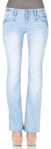 e3f23270f0f WallFlower Juniors Plus Size 37 Inseam Basic Legendary Bootcut Jeans