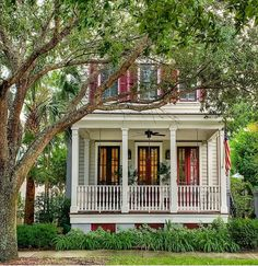 @hankmillerteam posted to Instagram: Lush landscaping provides the perfect frame for this cottage home.                        . . . . . #doorsandwindows #southerncharm #homestyle #sidewalkerdaily #southernliving #mysouthernliving #homesofinstagram #tinyhouse #tinyhome #cottagestyle #cottagedecor #cottagesandbungalows #cottage #cottagelife #architexture #archi_features #newhomes #porch #betterhomesandgardens #mybhg  #hgtv #housebeautiful #thebest_windowsdoors #homeinspo #housegoals… Southern Cottage, Southern Living, Cottage Homes, Cottage Style, Southern Architecture, Cottages And Bungalows, Crescent City, Better Homes And Gardens, House Goals
