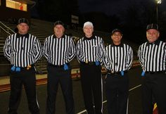Mike Sims Crew 2012 Football Officials, Sims, Mantle
