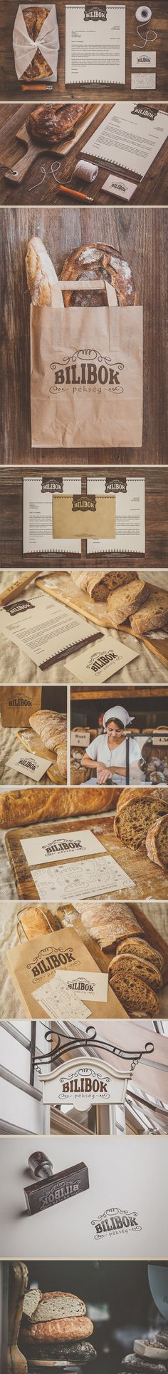 Bilibok Bakery Branding on Behance                                                                                                                                                                                 More