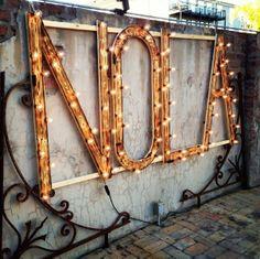 NOLA in Lights info@nolainlights.com for rental inquiries.  New Orleans Weddings Race and Religious www.nolainlights.com