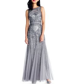 afe49563548fc Adrianna Papell Sequin Beaded Gown Bridesmaid Dresses, Prom Dresses, Formal  Dresses, Wedding Dresses