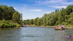 Początek spływu Dunajcem