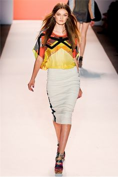 Nicole Miller Spring Summer 2012 Ready-To-Wear collection