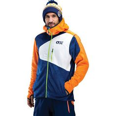 Picture #organic marc mens #jacket snowboard - orange dark blue all #sizes,  View more on the LINK: 	http://www.zeppy.io/product/gb/2/331706048170/