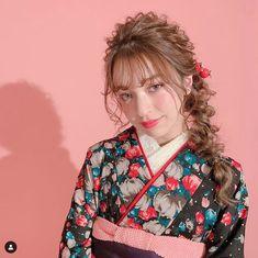 Hair Arrange, Japanese Hairstyle, Yukata, Photo Reference, Japanese Kimono, Japanese Culture, Hair Color, Bridal, Hair Styles