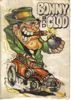 Odd Rods Bubble Gum Cards- used to have a bunch of these.