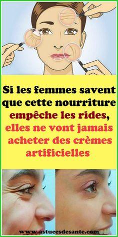 Si les femmes savent que cette nourriture empêche les rides, elles ne vont jamais acheter des crèmes artificielles #rides #visage #recettebeauté #remède