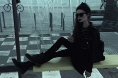 More looks by Violet Ell: http://lb.nu/user/79093-Violet-E  Items in this look:  Dr. Martens Boots   #gothic #grunge #vintage