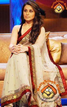 rani mukherjee wearing sabyasachi
