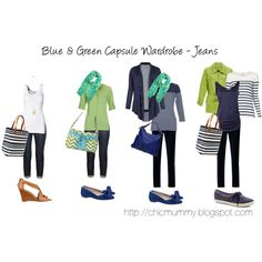 Blue & Green SAHM Capsule Wardrobe - Jeans by chicmummy on Polyvore featuring MANGO, Witchery, Emerson, By Malene Birger, Rebecca Taylor, Dsquared2, Keds, Nine West, Oroton and Gap