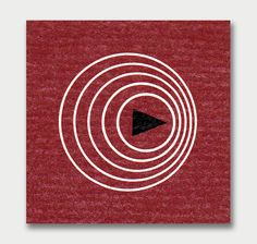 Sound and Hearing - Beautifullyminimalistand abstract vintage science graphics from the back of books published by Time Inc. Complement with these vintage science ads and Berenice Abbott's minimalist, abstract science photography from the same era.