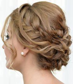 Hairstyles For Thin Hair - Braided Bun