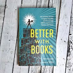 Better with books includes 500 diverse books to ignite empathy and encourage self-acceptance in tweens and teens. Through the power of reading, kids can find comfort and perspective, and adults can find a way into meaningful conversations with their tween The Power Of Reading, Silver In The City, Meaningful Conversations, Self Acceptance, Inspirational Gifts, Tween, Perspective, Encouragement, Wellness