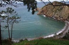Playa del Silencio, o Gabieiro, en Castañeras, #Cudillero, #Asturias