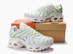 the latest 63205 0eed2 Womens Nike Air Max TN Shoes Fashion White Green And Silvery  If you like,  do not miss, you navigate interface, do not hesitate, it is definitely your  ...