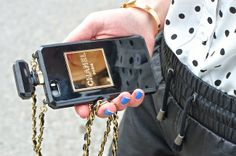 Chanel Flakon Iphone Case