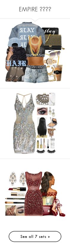 """""""EMPIRE 🎙🎹🎷🎺"""" by missk2blue ❤ liked on Polyvore featuring Casetify, KOON, Versace, Michael Kors, Keurig, Palm Beach Jewelry, Diesel, Jovani, Fantasia by DeSerio and Giuseppe Zanotti"""