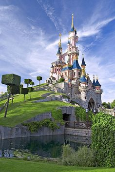 Disney Land Paris castle
