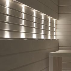 Led lights in the #sauna. Read more at lisbet-e.indiedays.com