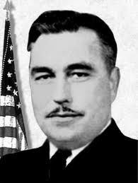 Captain Evan E. Ernest - Commander, USS Johnston and Medal of Honor (Posthumous) recipient for action during the Battle for Leyte Gulf, 24-26 October 1944 (Battle off Samar).
