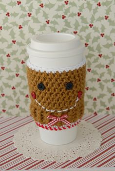 Gingerbread Coffee Cozy
