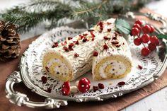 Áfonyás narancsos fatörzs Waffle Cake, Cupcake Cakes, Cupcakes, Yule Log, Hungarian Recipes, Waffles, French Toast, Food And Drink, Pudding