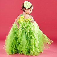 This fanciful collection is full of whimsical confections little ladies will love! Fluffy feathers and poufy tulle create frocks full of fairy-tale charm and keep girls ready for special occasions or playtime trips to imaginary lands. Dazzling jewel embellishments, sweet rosette adornments and dreamy accessories make for one fabulous ensemble.