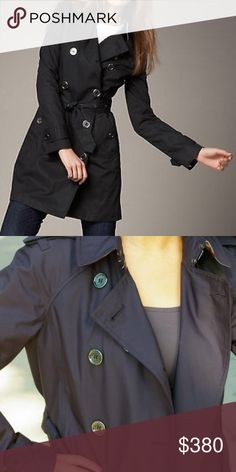 •Burberry• Burberry packable black trench. Burberry Jackets & Coats Trench Coats