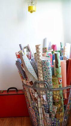 beautiful paper rolls.