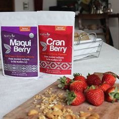Eligiendo nuestros polvos para el desayuno ¿Cuál prefieres tu? #nativforlife #disfrutalonatural #organicfood #maquiberry #cranberry #desyauno #frutossilvestres