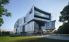 Zijing Paradise Walk | LWK + PARTNERS | Archinect Mystic River, Indoor Basketball Court, Riverside Park, Chinese Garden, New Community, Modern City, West Lake, Lake District, Facade