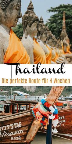Die perfekte Route für deinen Thailand Urlaub mit allen Highlights und Tipps. Ich zeige dir meine Lieblingsorte von Norden nach Süden.