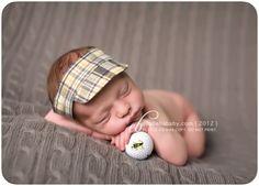 newborn golf photography