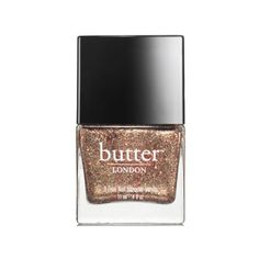 butter LONDON Nail Lacquer - Dust Up Overcoat (11ml) ($19) ❤ liked on Polyvore