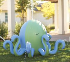 i need this for my yard :)  octopus sprinkler