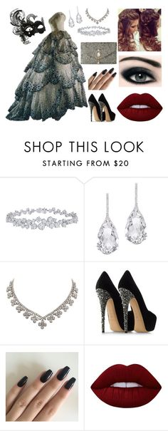 """""""Baile de Mascara"""" by thalita-amiga ❤ liked on Polyvore featuring Masquerade, Harry Winston, Plukka, Casadei, Retrò, Lime Crime, Christian Dior and NOVICA Masquerade Outfit, Masquerade Ball Gowns, Masquerade Party, 15 Dresses, Nice Dresses, Formal Dresses, Pretty Outfits, Beautiful Outfits, Sweet 16"""