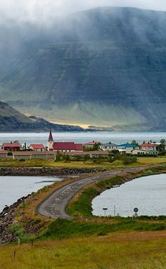 The Westfjords of Iceland is a great place to experience peace and quite. It is isolated, but the more exciting, as nature is unspoiled. Tradition and heritage play a large role in the region's culture, and the strong relation to the ocean is evident in both the regional cuisine and folklore. The Westfjords are a true Icelandic wilderness, and undoubtedly the ideal place for spotting birds, arctic fox, and other unique fauna in their natural habitats. This is Flateyri, Westfjords, Iceland.