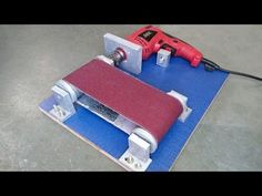 How to Make a Belt Sander at Home