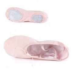 Selon La CM À Acheter, Toile Rose Ballet De Danse Chaussures Pour filles  Enfants Femme Zapatos De Punta De Ballet Pantoufles Livraison gratuite c43bd4bc67fa