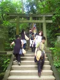 japan green temple - Google Search